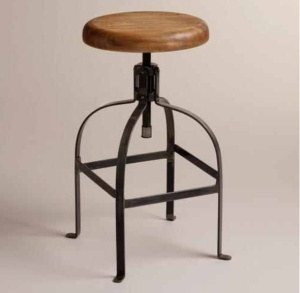 Twist Swivel Stool $119.99 @ World Market