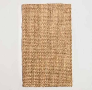 Basket Weave Jute Rug ON SALE $212.49 @ World Market (8x10)