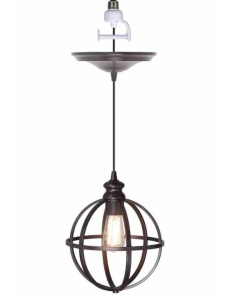 Globe Bronze Pendant $99 @ Home Decorators Collection