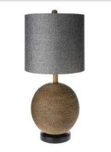 Mudhut Jute Sphere Lamp - Brown $49.99 @ Target (online only)