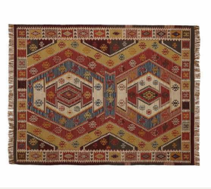 Gianna Recycled Yarn Kilim Indoor/Outdoor Rug $59-$799 @ Pottery Barn