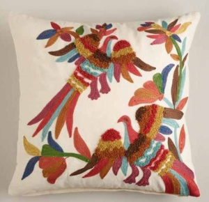 Two Birds Throw Pillow $34.99 @ World Market