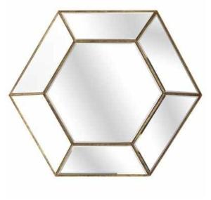 Crisanto Hexagon Mirror $99.95 @ Pier One