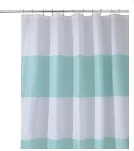 InterDesign Zeno Shower Curtain - Blue/White $24.99 @ Target (sold online only)