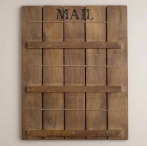 "Owen ""Mail"" Letter Holder $29.99 @ World Market"