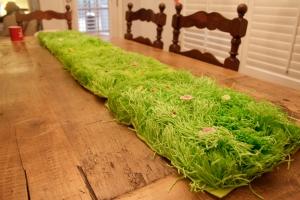 Paper grass pallets!