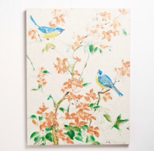 """Birds Greenery"" by Fabrice De Villencuve $99.99 @ World Market"