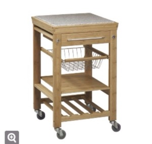 Kitchen Cart - Natural $169.99 (online only) @ Target